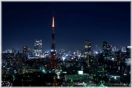 東京タワー・ライトダウン